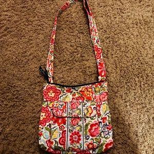 Vera Bradley Crossbody Messenger bag purse EUC